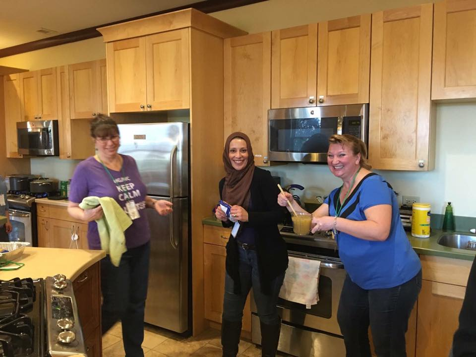 Ronald McDonald House Volunteers organized by the PI/IO Committee
